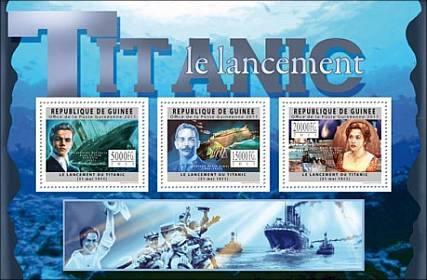 泰坦尼克号邮票集 - wuwei1101 - 西花社